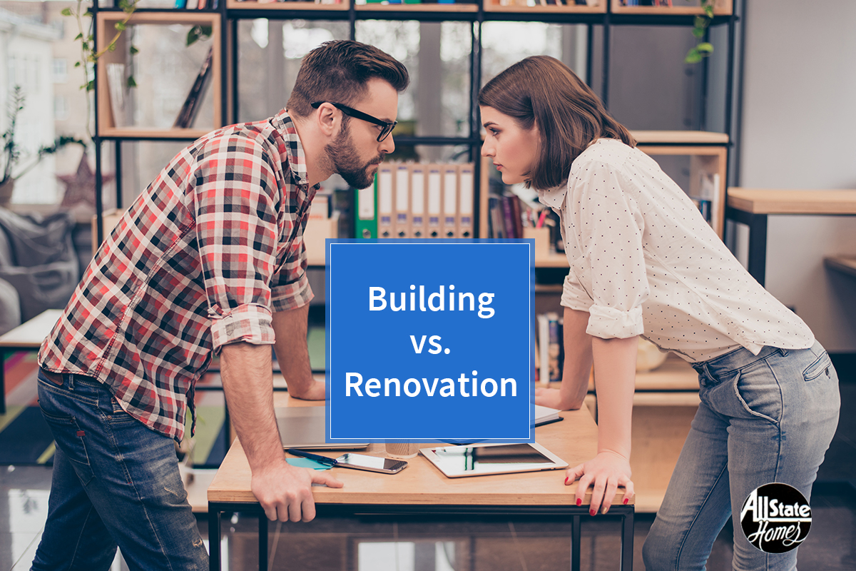 3 REASONS WHY BUILDING IS BETTER THAN RENOVATION
