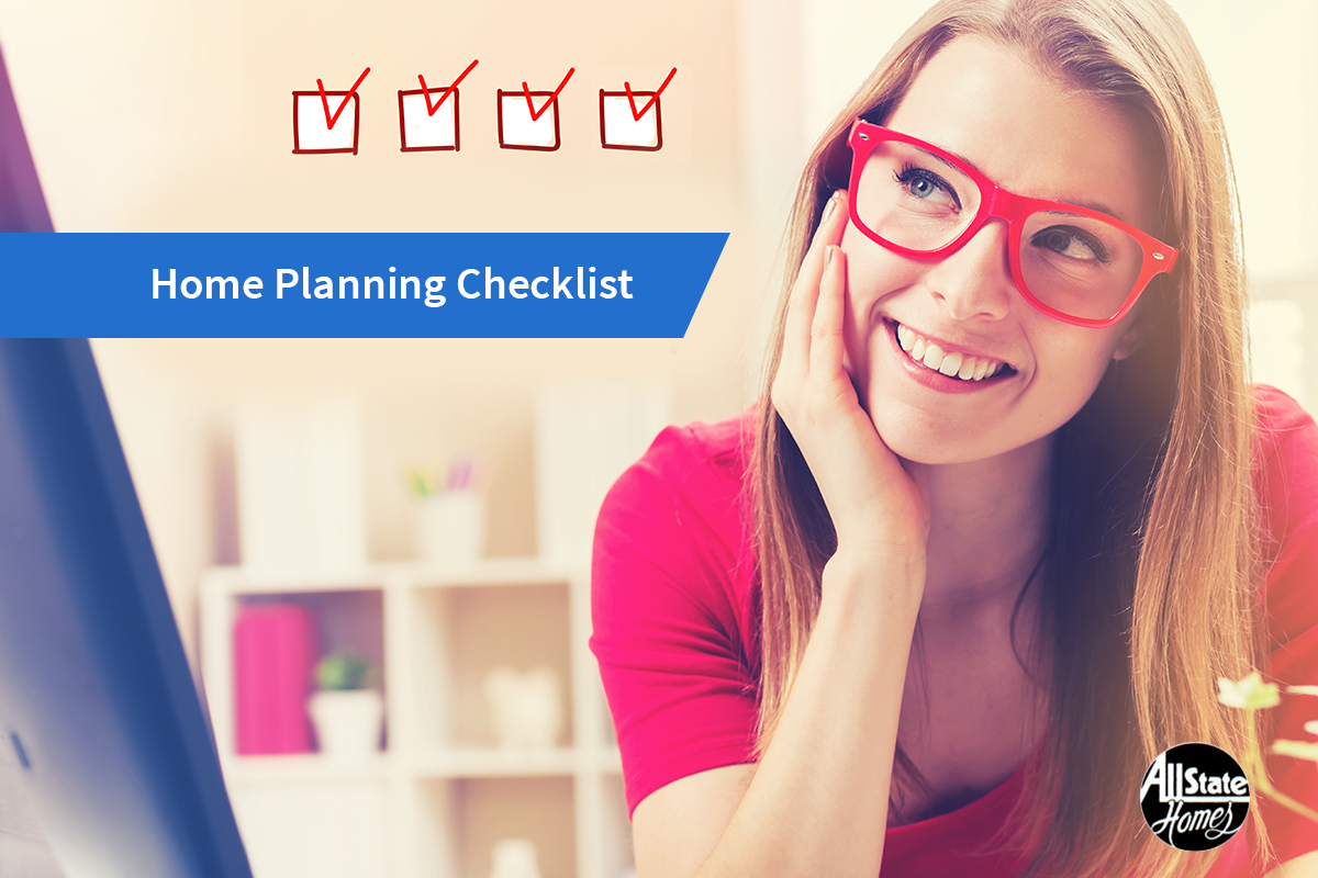 DOES YOUR HOME PLANNING CHECKLIST HAVE THESE FOUR POINTS?